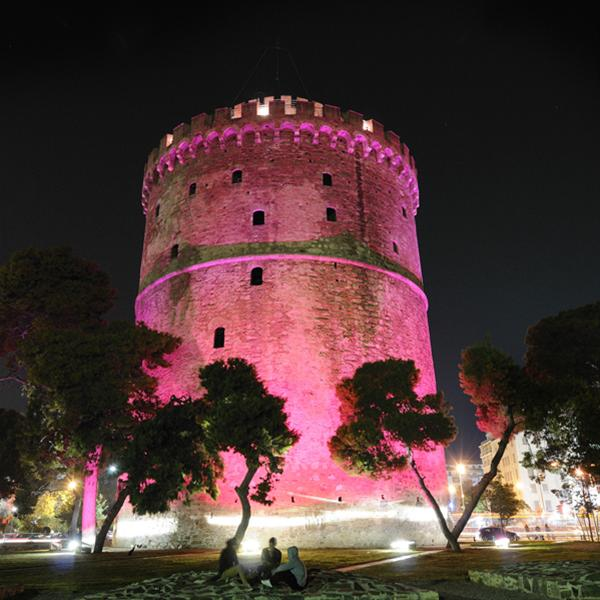 6 σημαντικά σημεία/ ορόσημα της Ελλάδας φωταγωγήθηκαν Ροζ!!!