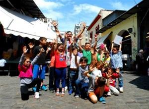 Με τα παιδιά στις αγορές της Θεσσαλονίκης