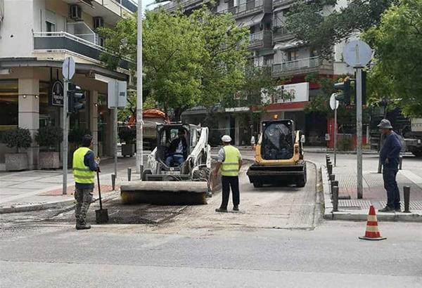 Θεσσαλονίκη: Έργα οδοποιίας και σήμανσης στις γειτονιές της πόλης