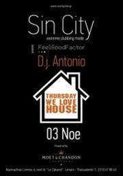 We Love House @ Sin City