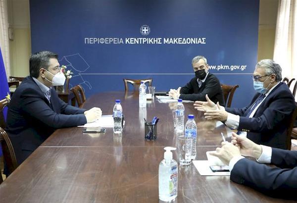 Συνάντηση για την πορεία υλοποίησης του Μουσείου Ολοκαυτώματος στη δυτική Θεσσαλονίκη