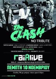 The Clash, No Tribute στο Γαία Live