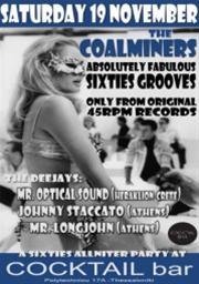 Coalminers Corporation @ Cocktail bar