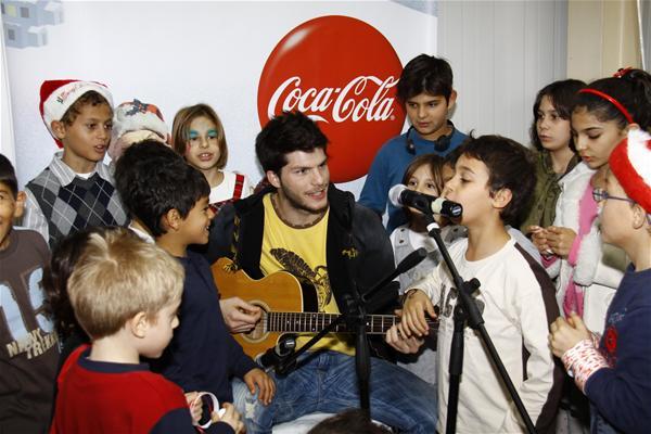 Η Coca-Cola & τα παιδιά των 'Παιδικών Χωριών SOS'