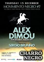 Alex Dimou @ Charro Negro
