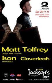 Matt Tolfrey, Ison & Cloverleafs @ Jackson's