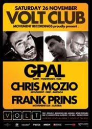 GPAL, Chris Mozio, Frank Prins @ Volt