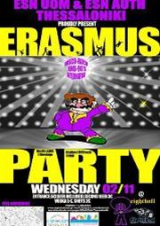 Erasmus party @ Eightball