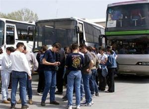 Κανονικά η μεταφορά 5.000 μαθητών στη Θεσσαλονίκη
