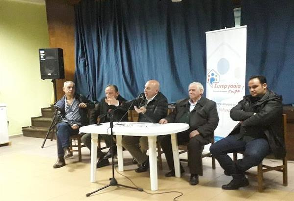 Οι κάτοικοι του Μελισσοχωρίου σε ανοιχτή συζήτηση με τη δημοτική παράταξη «Συνεργασία Τώρα» του Δήμου Ωραιοκάστρου