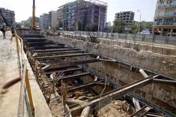 Ξεκινούν τα έργα του μετρό στο νέο σταθμό της Νέας Κρήνης