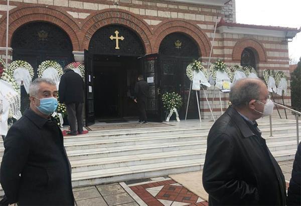 Θεσσαλονίκη: Συγκίνηση στο τελευταίο «αντίο» στον Αδάμ Ρεγκούζα
