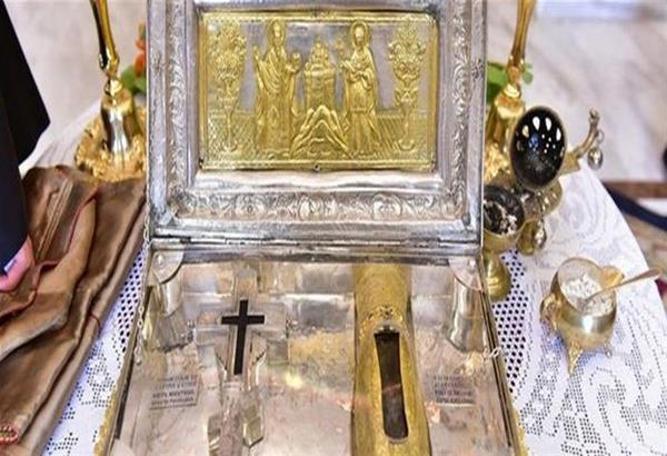 Από το Άγιον Όρος στη Θεσσαλονίκη η τίμια χείρα της Αγίας Μαγδαληνής