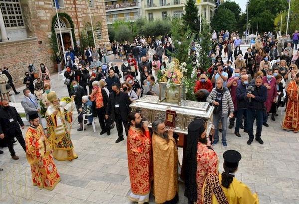 Ιερός Ναός Αγίου Δημητρίου: Οχι δεν φταίει η Εορτή του Αγίου Δημητρίου για την εξάπλωση της πανδημίας στην Θεσσαλονίκη