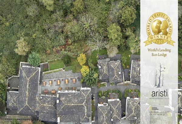 Ένα ελληνικό ορεινό ξενοδοχείο για τρίτη φορά στην κορυφή του κόσμου ως  World's Leading Eco-Lodge