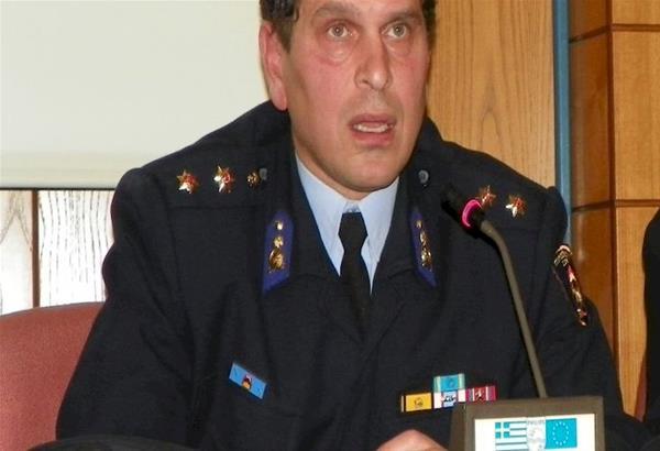 Ο υποστράτηγος Μάριος Αποστολίδης στη διοίκηση της Π.Υ Κεντρικής , Ανατολικής Μακεδονίας και Θράκης
