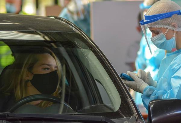 Τρία νέα κρούσματα σήμερα σε 433 drive through τεστ σε Νεάπολη και Συκιές