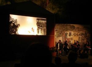 «Μια βραδιά στο Μπέχτσιναρ» από το Θέατρο Σκιών Χατζή