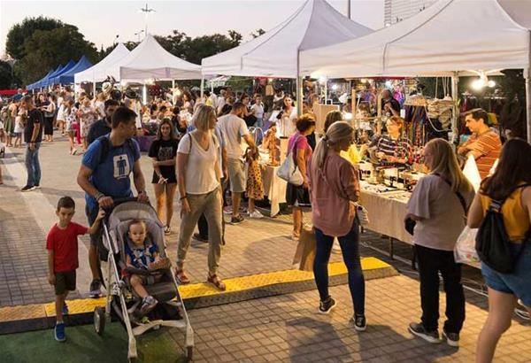 Thessaloniki Flea Market & Street Food στο προαύλιο της ΔΕΘ