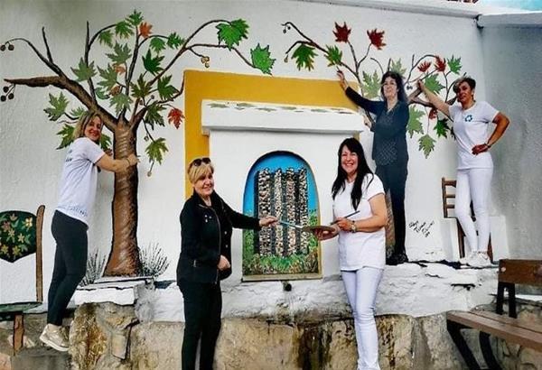 Γαλάτιστα Xαλκιδικής: Η ''τέχνη στις πλατείες'', εντυπωσιάζει ντόποιους κα επισκέπτες. (Φωτό)