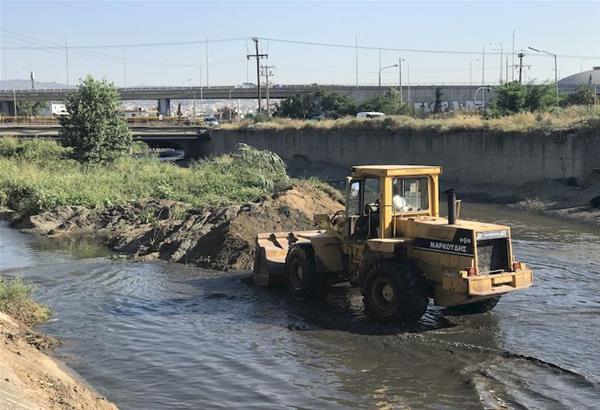 Καθαρισμός ρέματος Δενδροποτάμου. ''Επίθεση'' ΕΥΑΘ στην ΠΚΜ για την ευθύνη ολοκλήρωσης του έργου