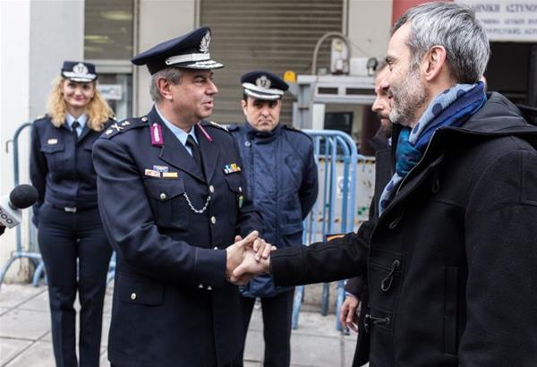 Δωρεά περιπολικού στην ΕΛ.ΑΣ με παρέμβαση Κωνσταντίνου Ζέρβα