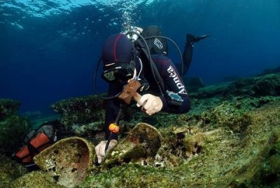 Κάσος: Εντοπίστηκαν νέα αρχαία ναυάγια της Κλασικής και Ρωμαϊκής περιόδου