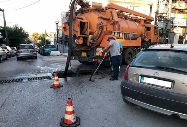 Δήμος Ωραιοκάστρου: Kαθαρισμοί και αποφράξεις φρεατίων στο πλαίσιο προετοιμασίας για τη χειμερινή περίοδο