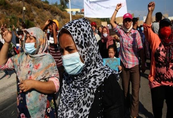 Μυτιλήνη: Διαδηλώσεις προσφύγων και μεταναστών