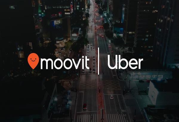 Η Uber επιλέγει το Moovit για τα δεδομένα συγκοινωνίας του