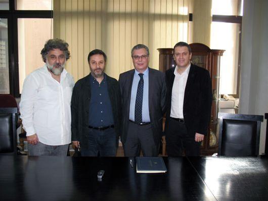 Διευρύνεται η συνεργασία του Πανεπιστημίου Μακεδονίας με το Κρατικό Θέατρο Βορείου Ελλάδος