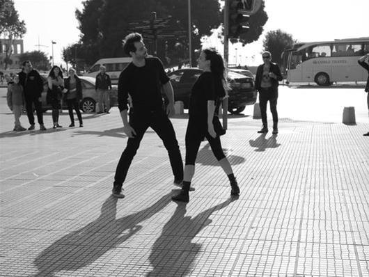 «Ρωμαίος και Ιουλιέτα …on the road» στην Πλατεία Αριστοτέλους