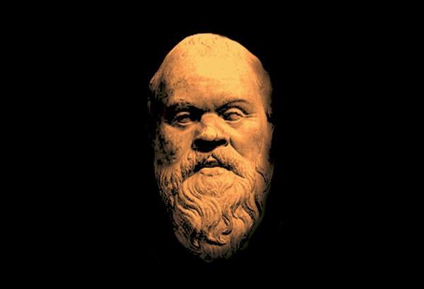 Οι τελευταίες φράσεις της Απολογίας Σωκράτους του Πλάτωνος.