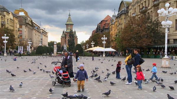 Στην Τιμισοάρα της Ρουμανίας με το «Balkan Express» της ΕΤ3