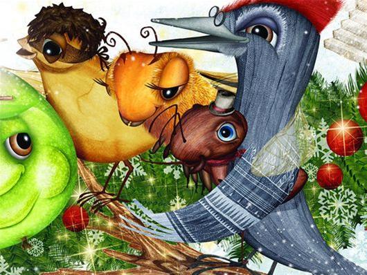 «Το Καρύδι και το Χριστουγεννιάτικο Κέικ» στο Θέατρο Σοφούλη