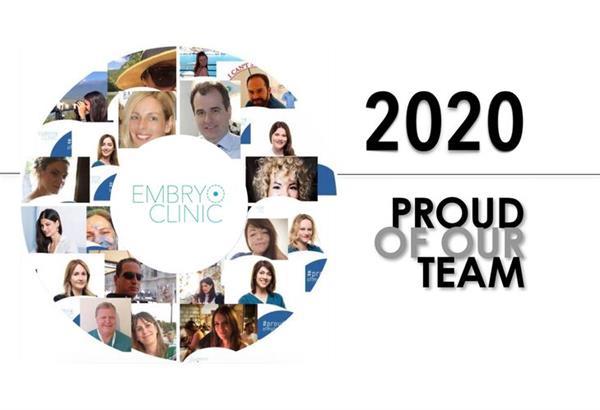 Embryoclinic: Τρεις σημαντικές βραβεύσεις μέσα στο 2020