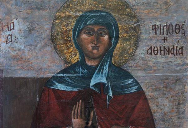 Ποια ήταν η Αγία Φιλοθέη η Αθηναία - τα μεγάλα κοινωνικά και εθνικά έργα της