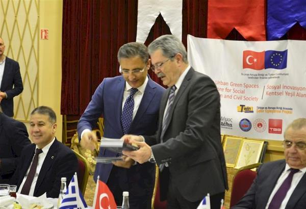 Δήμος Δέλτα: Συναντήσεις Φωτόπουλου στην Τουρκία για την αξιοποίηση των δημόσιων χώρων