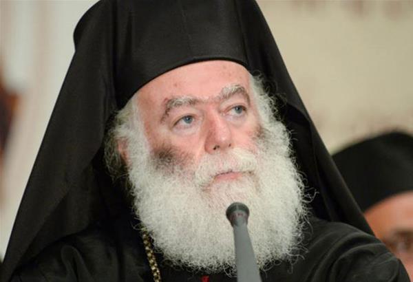 Πατριάρχης Αλεξανδρείας : Η Ελλάδα ποτέ δεν πεθαίνει – Δεν τη σκιάζει φοβέρα καμιά