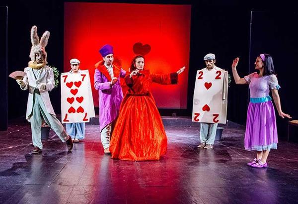 Η Αλίκη στη χώρα των θαυμάτων στο Θέατρο Αυλαία