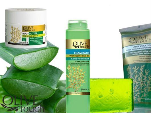 Φυτικά καλλυντικά Olive Touch σε νέες, χαμηλότερες τιμές