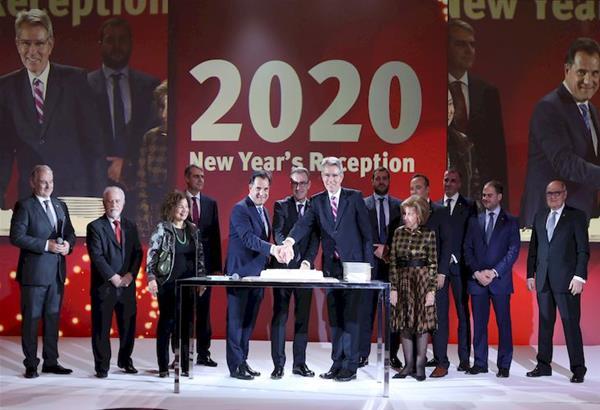 Πρωτοχρονιάτικη Δεξίωση του Ελληνο-Αμερικανικού Εμπορικού Επιμελητηρίου