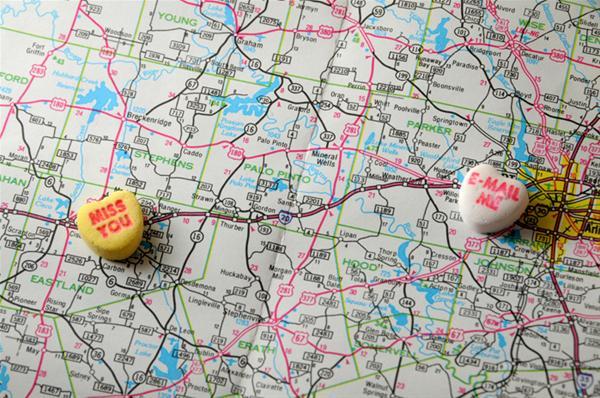 Ερωτική σχέση από απόσταση φτουράει;