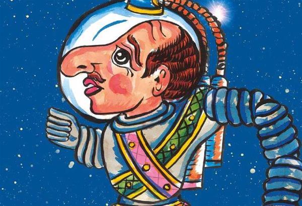 Ο Καραγκιόζης Αστροναύτης στο Θέατρο Σοφούλη