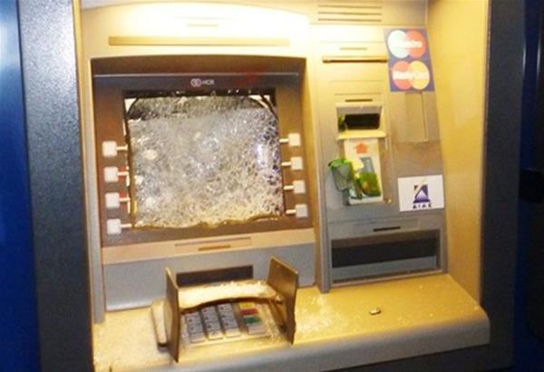 Θεσσαλονίκη: Επίθεση κουκουλοφόρων σε υποκατάστημα τράπεζας το βράδυ της Παρασκευής (15/01)