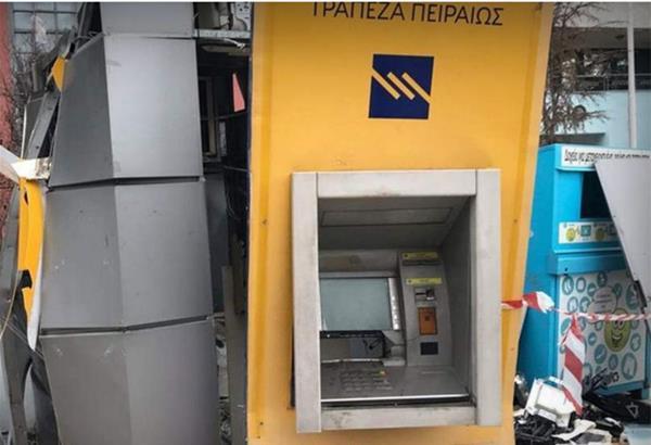 Θεσσαλονίκη: Ανάληψη ευθύνης για τρεις επιθέσεις σε ΑΤΜ