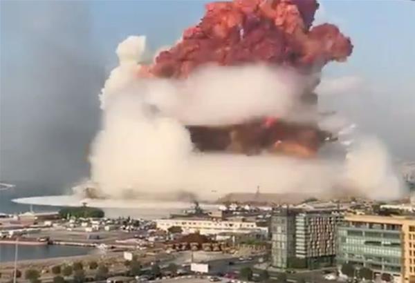 Ισχυρή έκρηξη σημειώθηκε στη Βηρυτό. Βίντεο