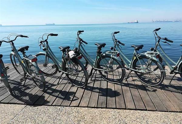 Θεσσαλονίκη: Εκδήλωση για την Παγκόσμια Ημέρα Ποδηλάτου στον Λευκό Πύργο