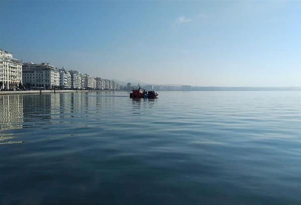 Τα μυστικά του Θερμαϊκού...ανέσυρε η Αλκίππη...και κουβούκλιο χημικής τουαλέτας στον κόλπο της Θεσσαλονίκης..