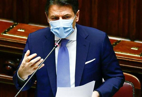 Ιταλία: Η κυβέρνηση του Τζουζέπε Κόντε έλαβε ψήφο εμπιστοσύνης από τη Γερουσία